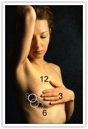 breast exam proceadure
